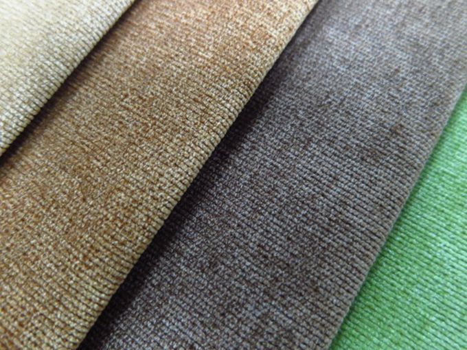 Merveilleux Polyester Plain Upholstery Corduroy Fabric