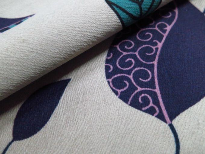 Warp Knitted Fl Pattern Velvet Sofa Fabrics