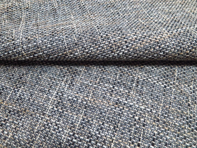 Sofa Fabric Upholstery Fabric Curtain Fabric Manufacturer Polyester Plain Grey Color Car Seat Fabric