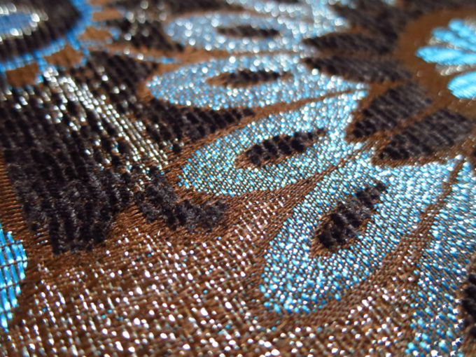 Jacquard Yarn Dyed Polyester Chenille Fabric