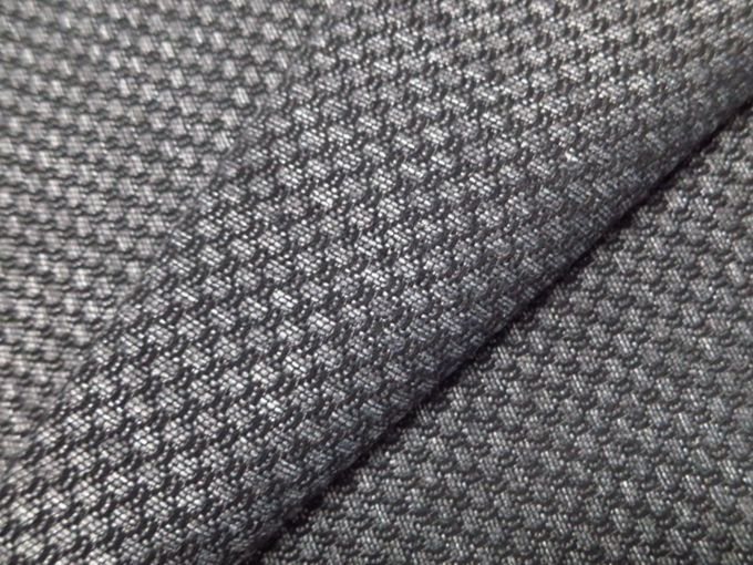 Plaid Jacquard Polyester Office Furniture Fabric