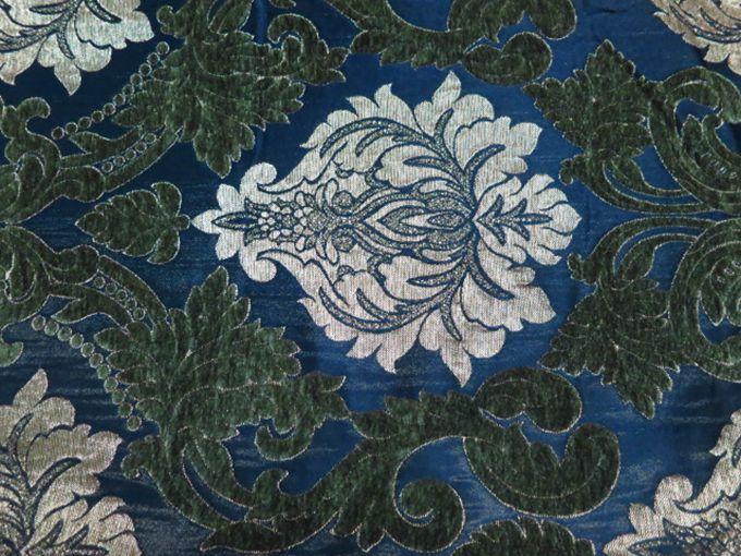 Sofa Fabric Upholstery Fabric Curtain Fabric Manufacturer Green