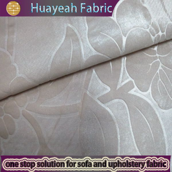 Sofa Fabric Upholstery Fabric Curtain Fabric Manufacturer Embossed