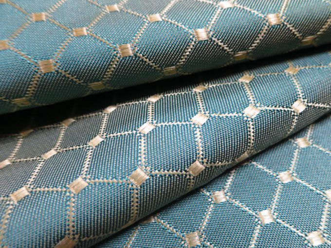 Plaid Jacquard Woven Curtain Fabric Home Decor Fabrics Online Home Decor Fabrics Online
