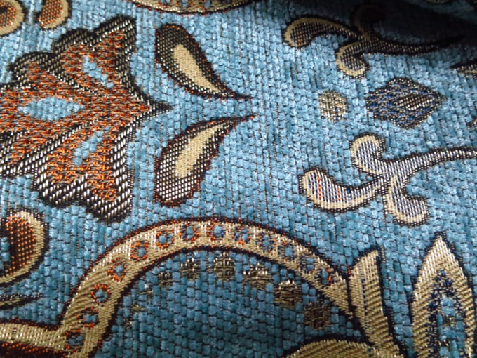 Navy Blue Upholstery Fabric