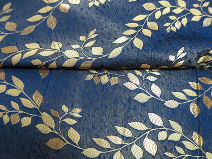 Navy Upholstery Fabric