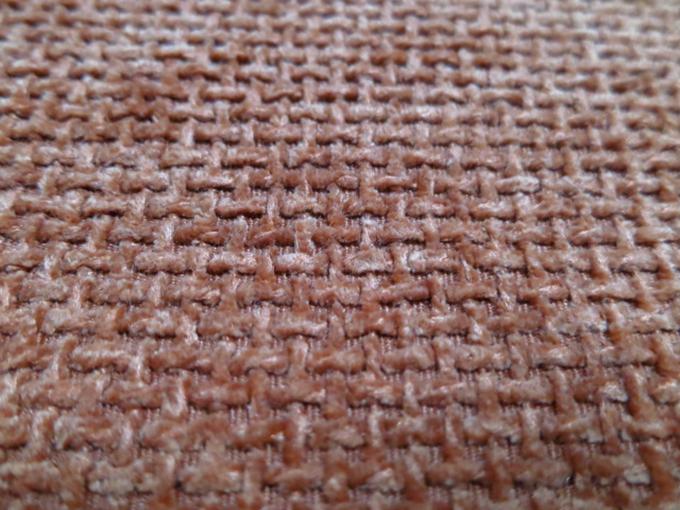 100%polyester Yarn Dyed Jacquard Chenille Fabric. Sofa Alcantara Fabric