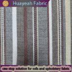 chenille striped faux linen fabric sofa fabric