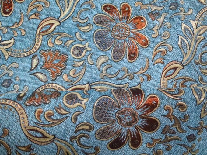 Suede Upholstery Fabric >> sofa fabric,upholstery fabric,curtain fabric manufacturer 100% Polyester flower navy blue color ...