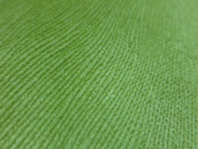 bright green upholstery velour fabric