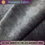 grey polyester yarn dyed new chenille plain fabric