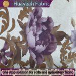 flower design printing super soft velvet fabric