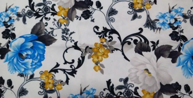 Sofa Fabric Upholstery Fabric Curtain Fabric Manufacturer Blue