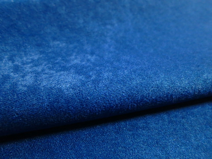 Sofa Fabric,upholstery Fabric,curtain Fabric Manufacturer 100%polyester Blue Velvet Fabric For Sofa