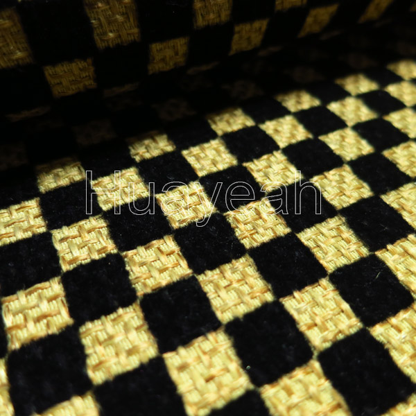 Durable Upholstery Fabric Backside Close Look