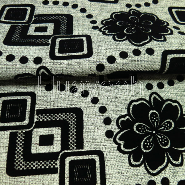 flower geometric sofa upholstery fabric designs