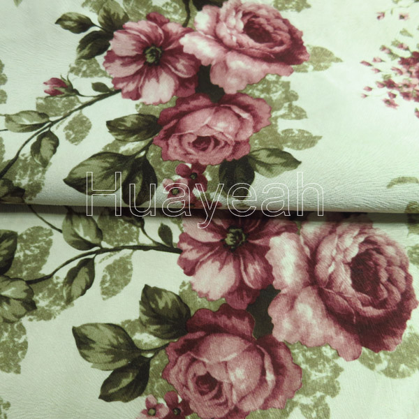 Sofa Fabric Upholstery Fabric Curtain Fabric Manufacturer Floral