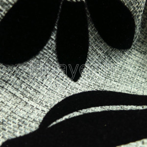 tweed upholstery fabric close look