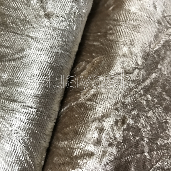 High Quality Sofa Crushed Velvet Fabric