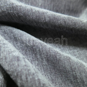 chenille curtain fabric close look