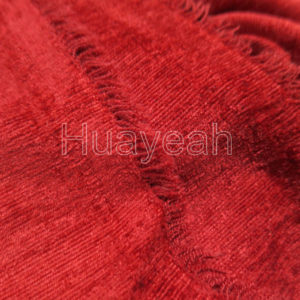 chenille fabric for curtain from haining backside