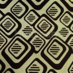 wholesale flocked geometric pattern fabric