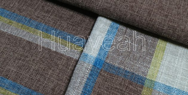 Sofa Fabric Upholstery Fabric Curtain Fabric Manufacturer Checked
