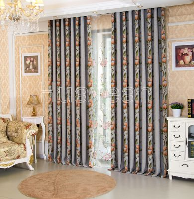 elegant living room curtain