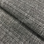 thick greige linen look fabric for sofa