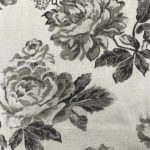 cushion cover floral jacquard fabric